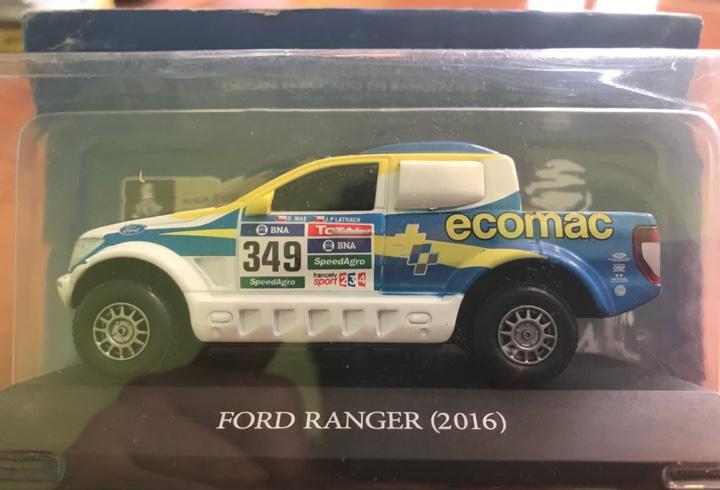 Ford ranger (2016) coleccion dakar escala 1:43 nuevo en
