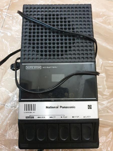 Grabador casette national panasonic