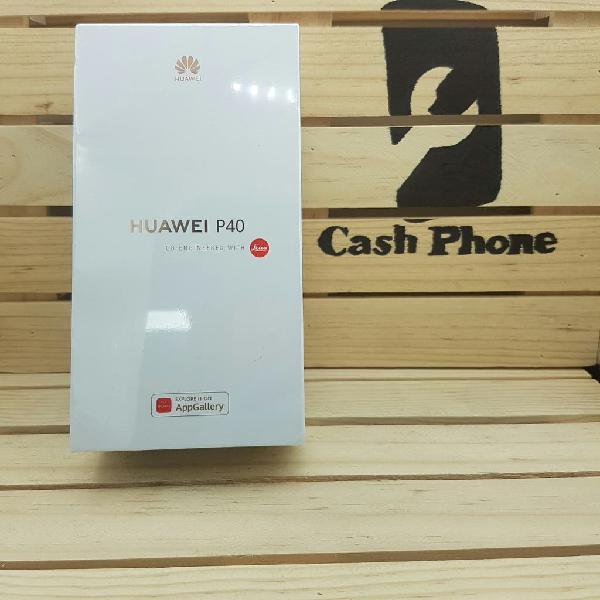 Huawei p40 128gb 8gb ram black nuevo
