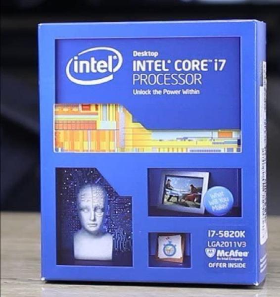 Intel core i7 5820k 3.3ghz