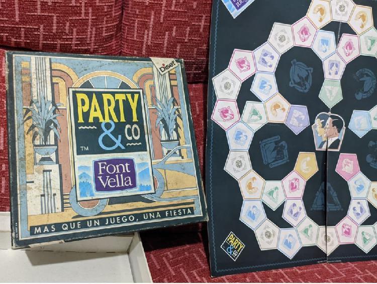 Juego de mesa party & co font vella ( trivial )
