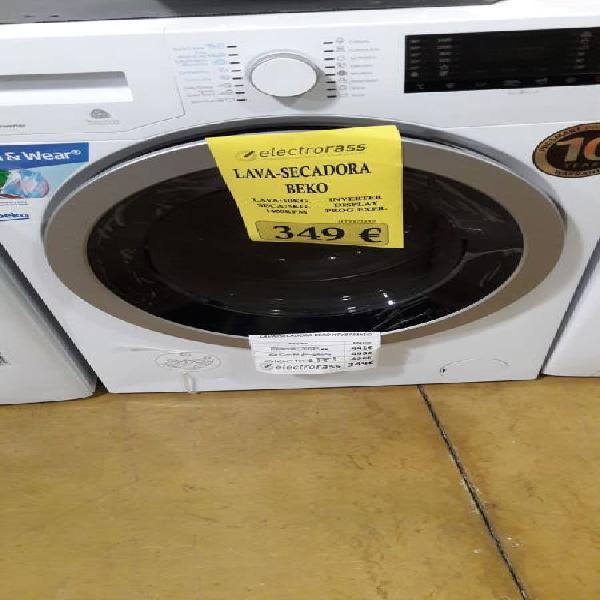Lavadora secadora beko