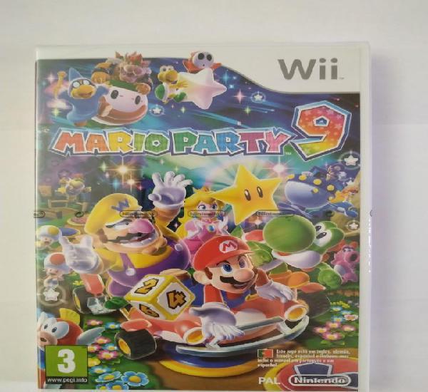 Mario party 9 nintendo wii pal españa