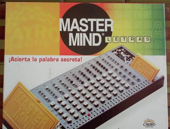 Master mind letras - juegos cayro - acierta la palabra
