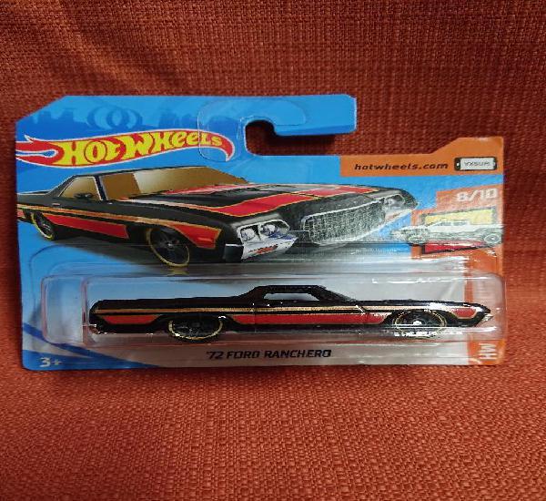 Mattel hot wheels nuevo en blister escala 1:64 72 ford