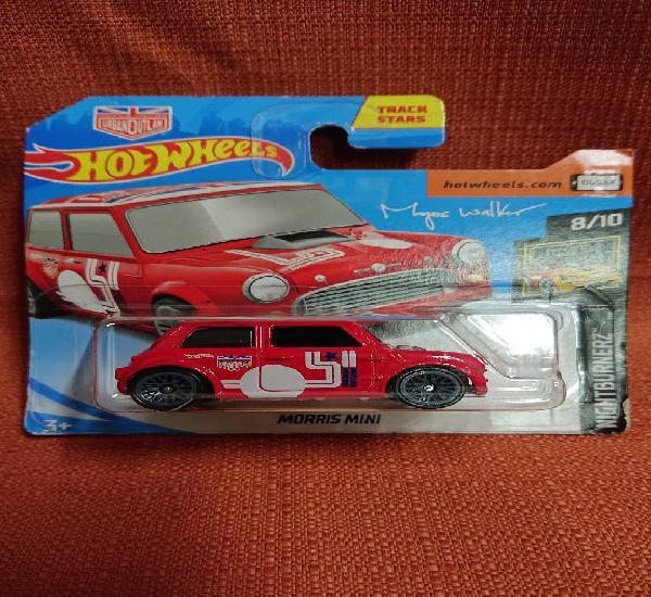 Mattel hot wheels nuevo en blister escala 1:64 morris mini