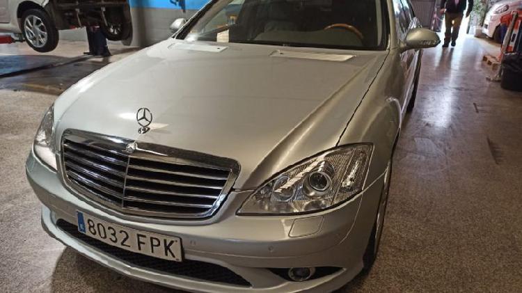Mercedes-benz clase s 420cdi largo aut.