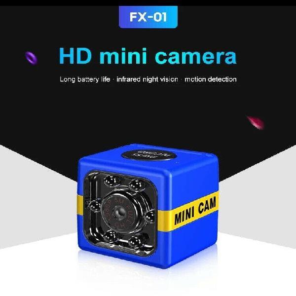 Mini camara 1080 hd inalambrica vision nocturna in