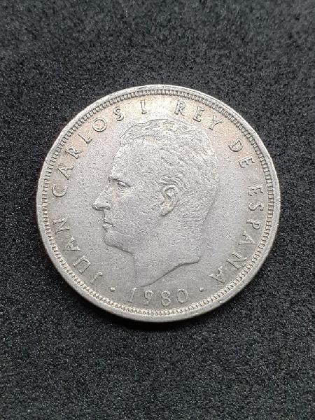 Moneda de cinco pesetas. 1980 *82 mundial 82