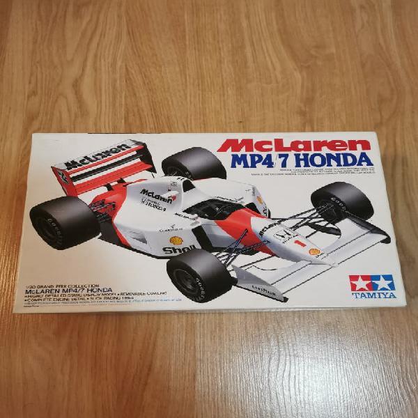 Maqueta Mclaren MP4/7 Honda. Marca Tamiya