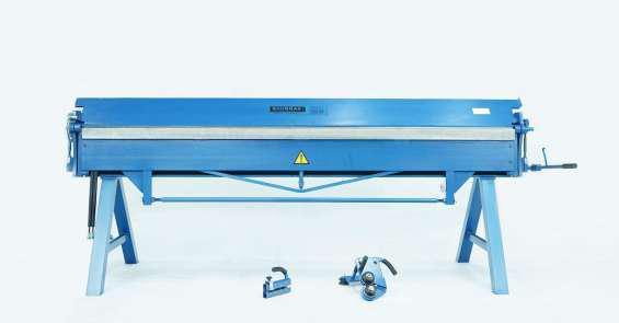 Maquinas de taller para hojalata y chapa plegadora