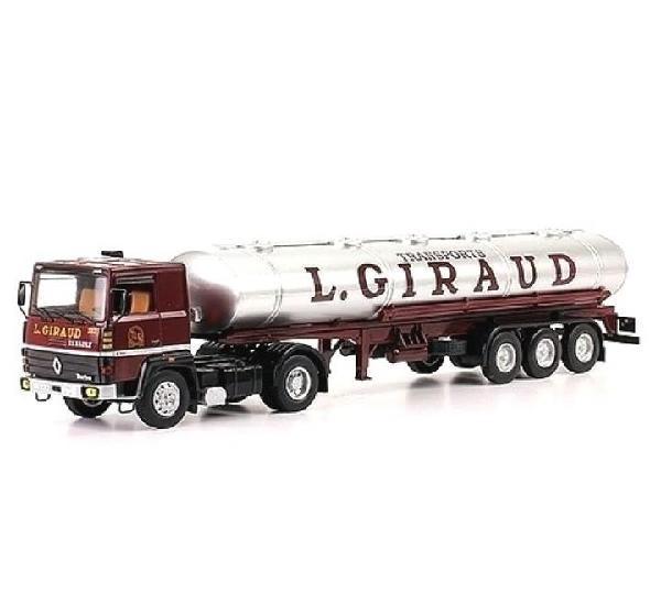 Mercedes lps giraud camion trailer 1:43 ixo altaya diecast