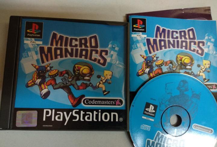 Micro maniacs - psx playstation 1 - ps1 psone - pal esp