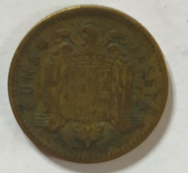 Moneda 1 ptas 1947