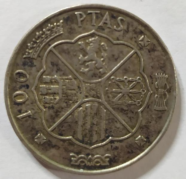 Moneda 100 ptas 1966
