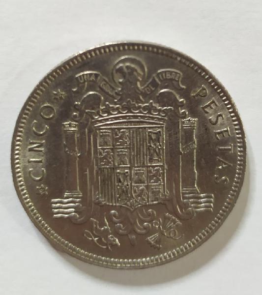 Moneda 5 ptas 1949