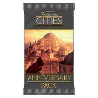 Nuevo) 7 wonders: cities anniversary pack - juego