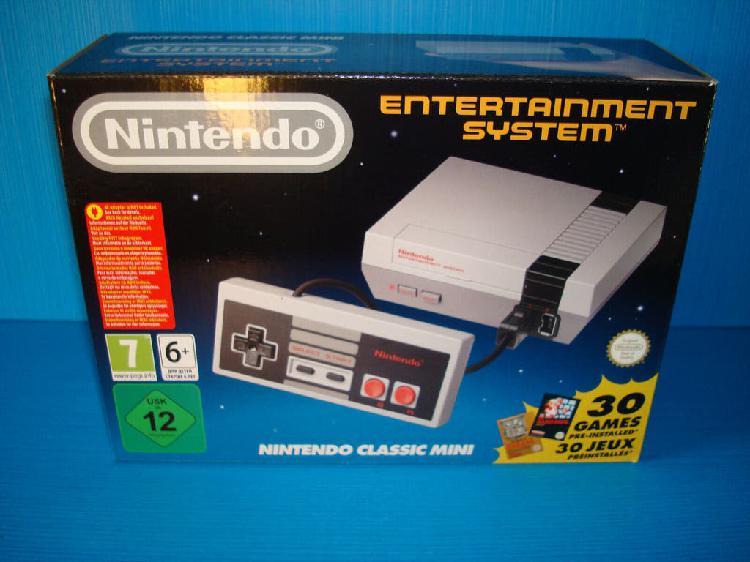 Nintendo mini nes 30 juegos preinstalados usado