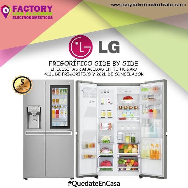 Oferta frigorífico americano lg inox