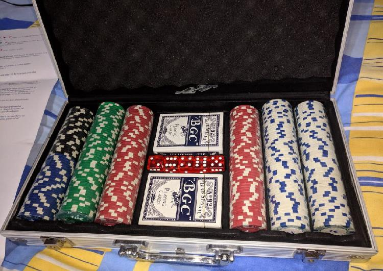 Poker + maletin