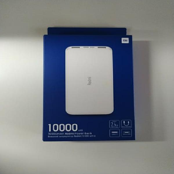 Precintado bateria xiaomi 10.000 mah