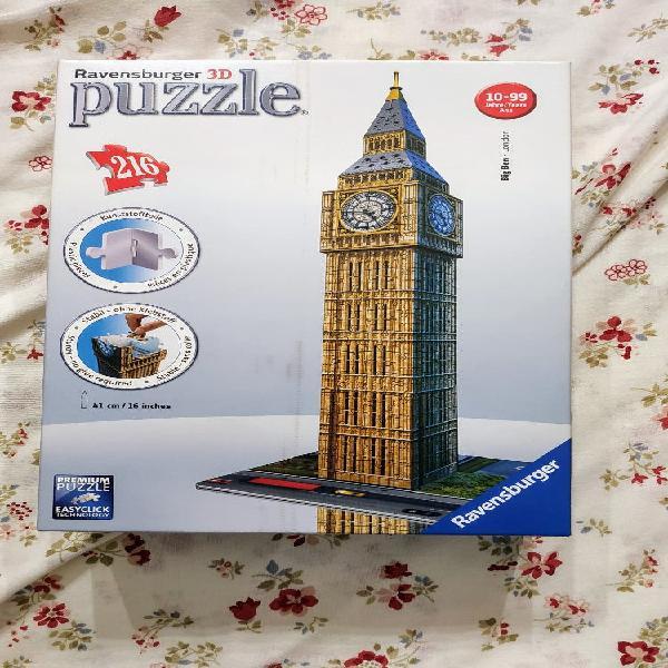 Puzzle 3d del big ben