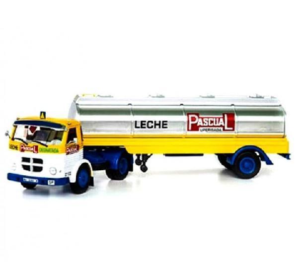 Pegaso 2030 leche pascual camion trailer 1:43 ixo altaya