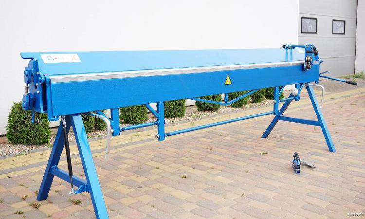 Plegadora 3 metros plegadora manual para aluminio dobladora