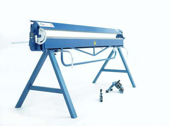 Plegadora manual para aluminio de 2 metros dobladora para