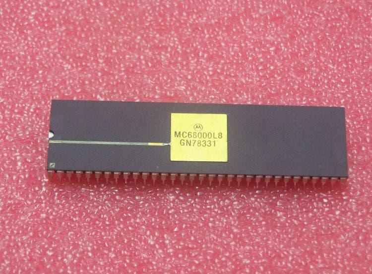 Procesador motorola 68000 vintage