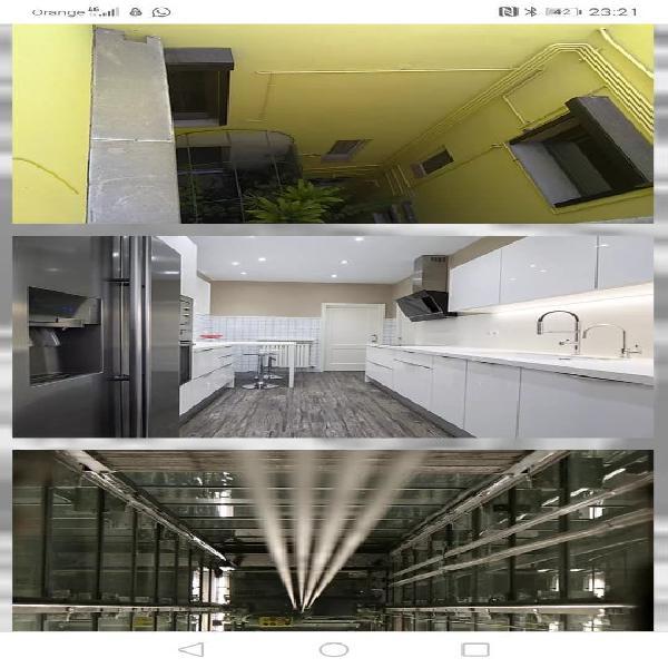 Rehabilitación de fachadas e interiores
