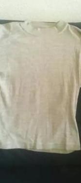 Regalo jersey gris unisex entretiempo talla m