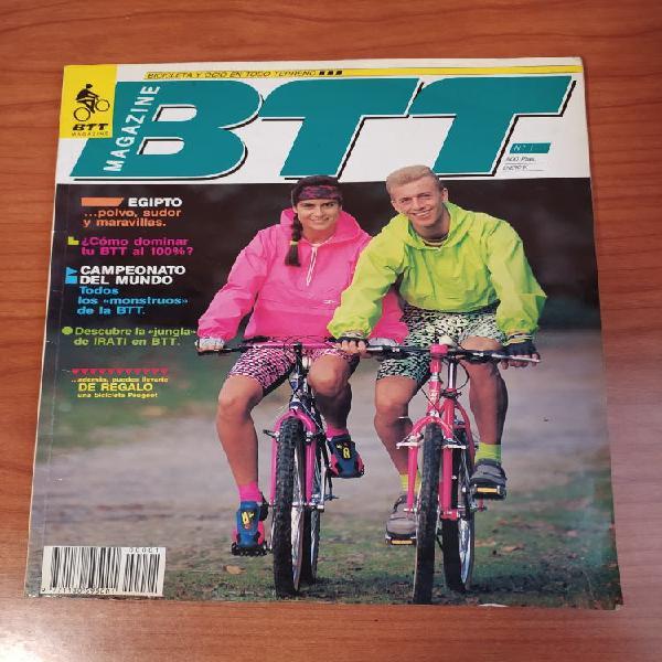 Revistas antiguas btt desde 1991 a 1995