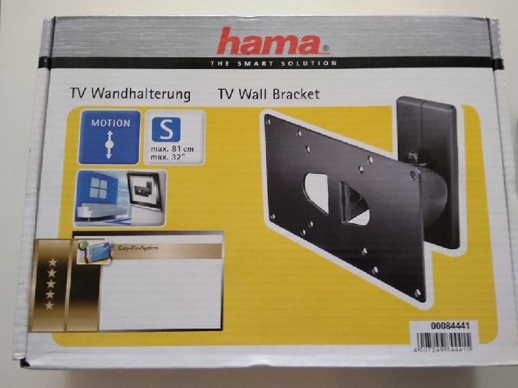 Soporte pared televisión tv hama muy buen estado