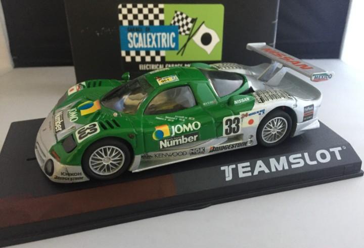Team slot nissan r390 gt1 jomo le mans 1998