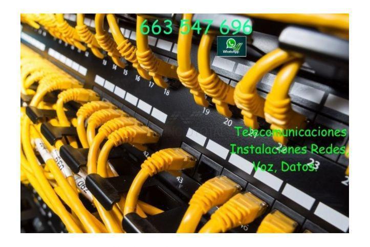 Telecomunicaciones, instalaciones informáticas.