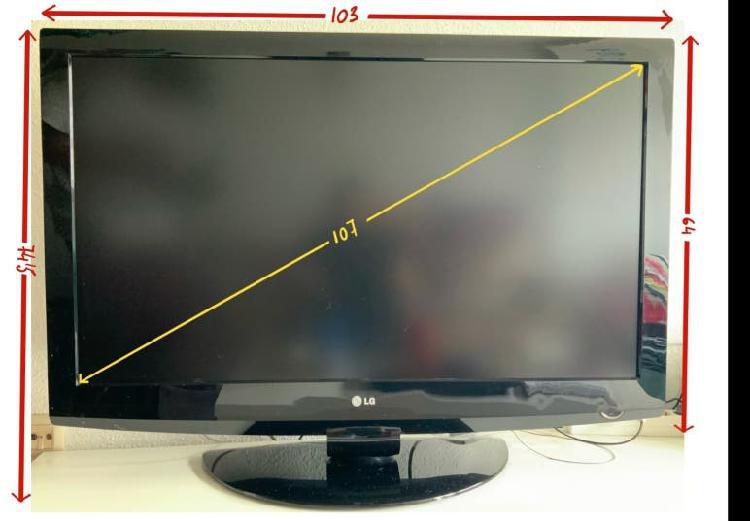 """Televisión led 42"""" lg"""