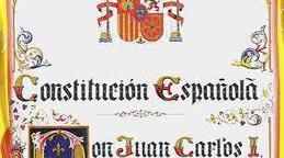 Test sobre de la constitución española de 1978.