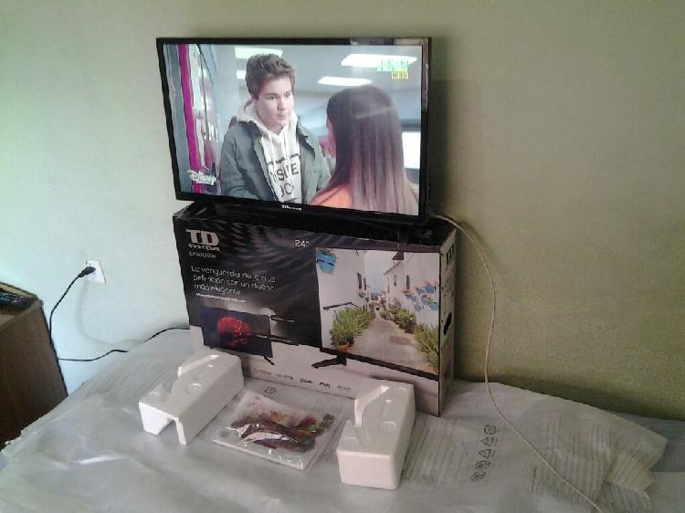 "Tv led td system 24""nueva ascao"