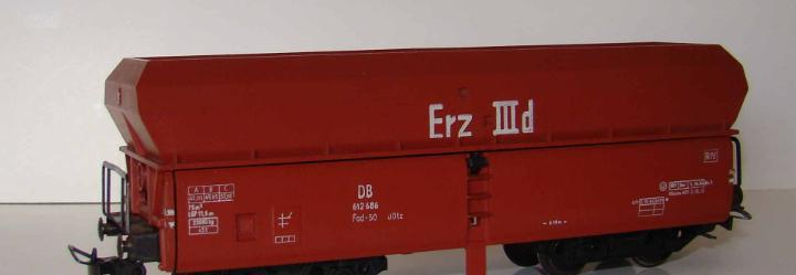 Vagon tolva de fleischmann sin caja con descarga automatica