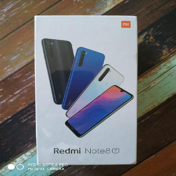 Xiaomi redmi note 8t 4/64gb *nuevo precintadi