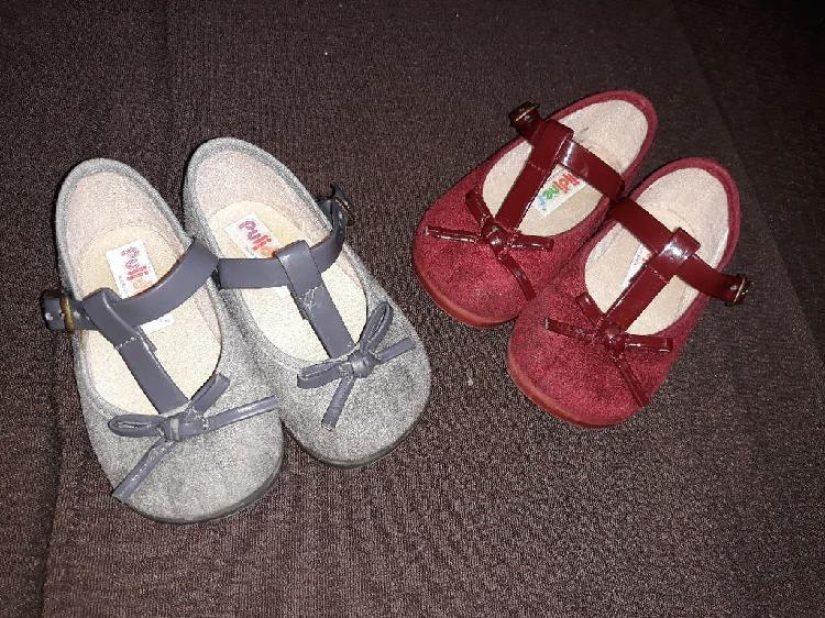 Zapatos niña, número 19