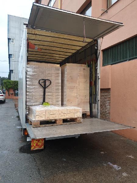 Alquiler camion plataforma