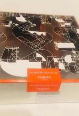 Caja gris y naranja de hermes original