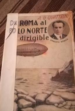 De roma al polo norte en dirigible