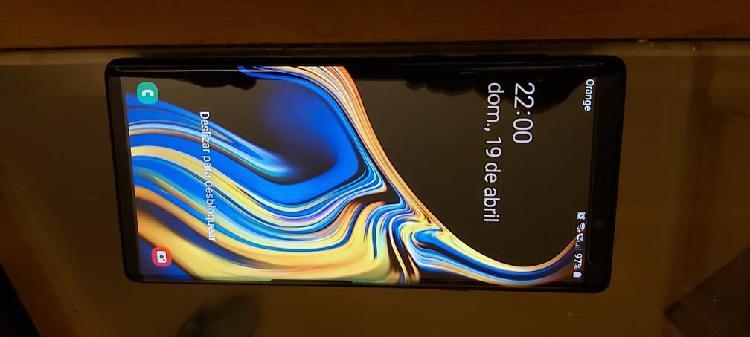 Samsung note 9 casi nuevo 420e negociables