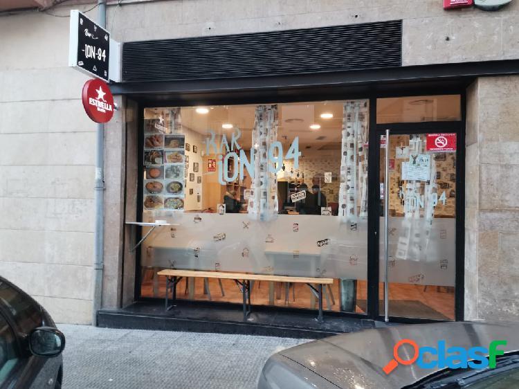 Estupendo bar en venta en burlada-navarra