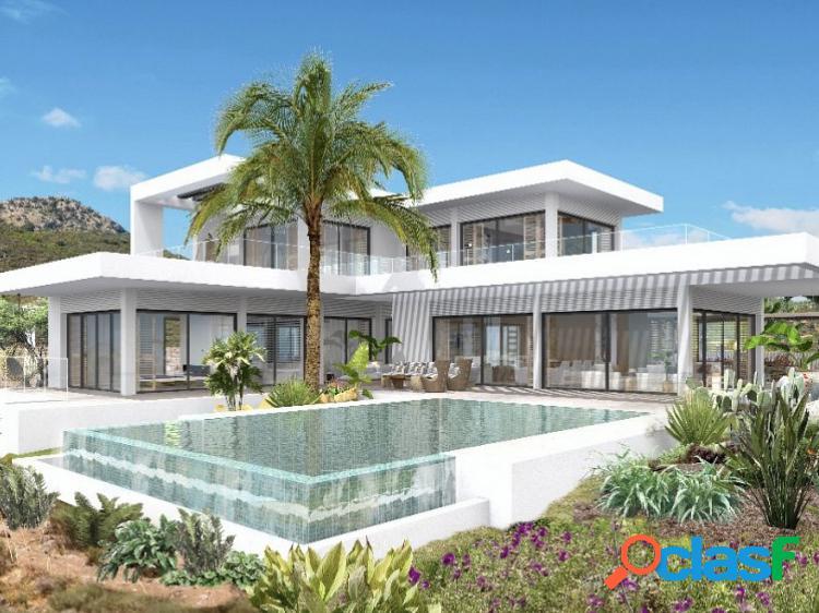 Villa de obra nueva en venta en benahavis, malaga