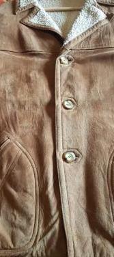 Abrigo pelliza talla l. ante original.