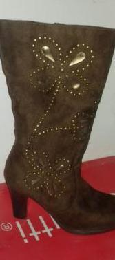Botas de señora zapatos de fútbol